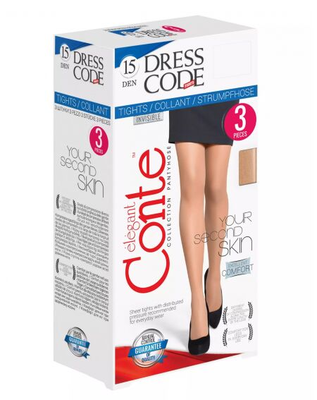 Conte Dress Code 15 den 3 pary