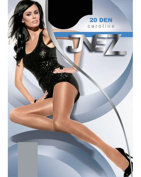 Inez Caroline Elastil Tights 20 den 6-3XL