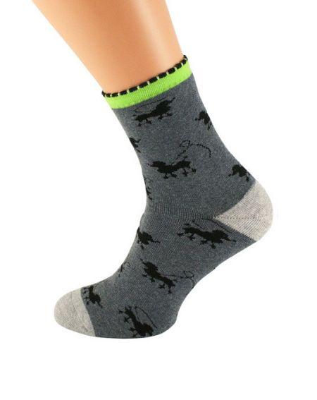 Bratex 037 Women Frotta socks, pattern 36-41