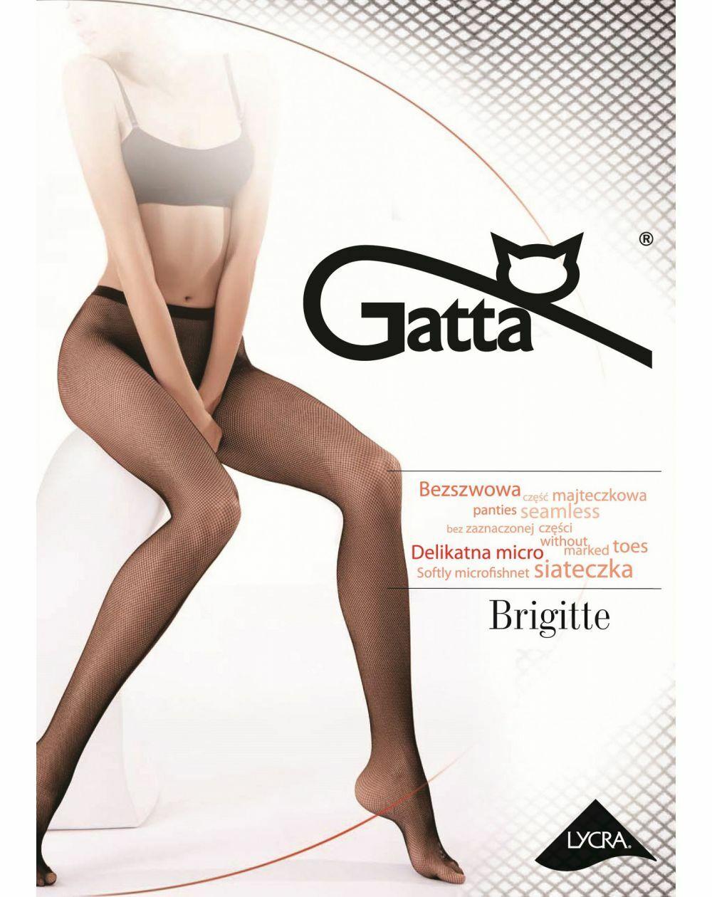 Rajstopy Gatta Brigitte kabaretka wz.06 1-4