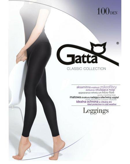 Gatta Microfibra 100 den 5-XL leggings