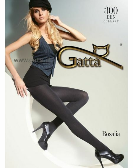 Rajstopy Gatta Rosalia 300 den 5-XL
