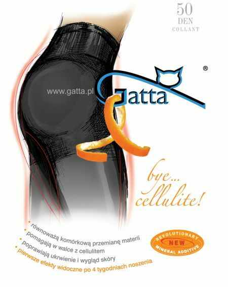 Gatta Bye Cellulite Tights 50 denier 2-4