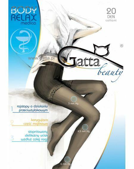 Gatta Body Relax Medica Tights 20 den 2-4