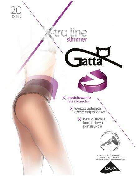 Rajstopy Gatta Body Slimmer 20 den 2-4