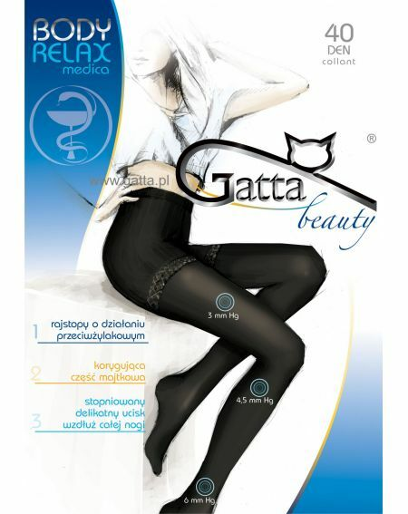 Gatta Body Relax Medica Tights 40 den 5-XL