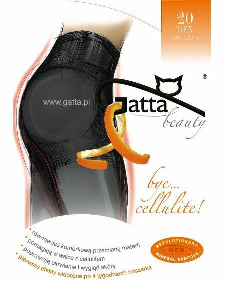 Gatta Bye Cellulite Tights 20 denier 2-4