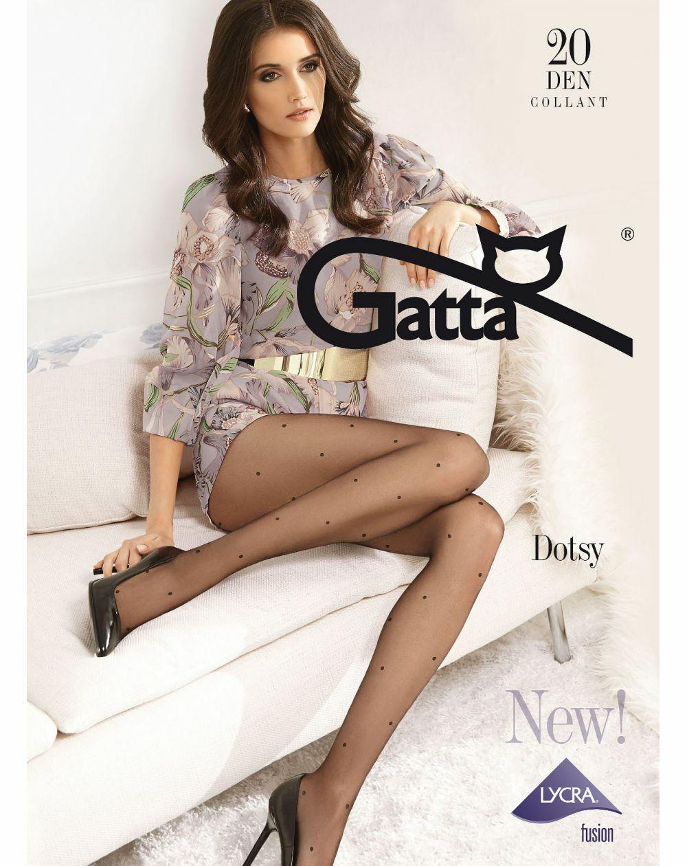 Rajstopy Gatta Dotsy wz.03 20 den 2-4