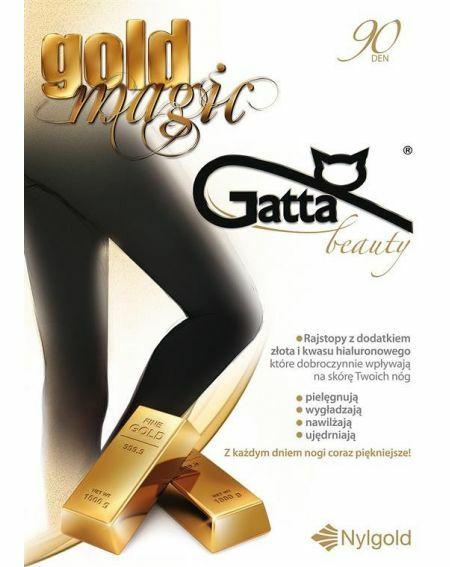 Rajstopy Gatta Gold Magic 90 den 2-4