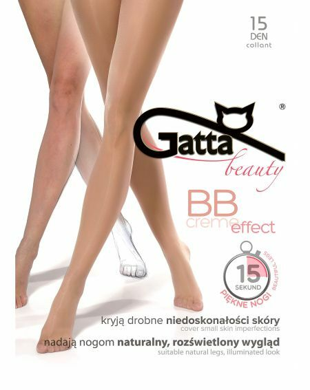 Gatta BB Creme Effect Tights 15 denier 2-4
