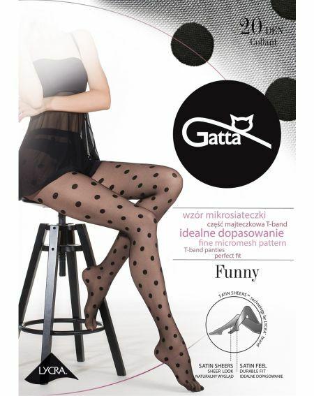 Gatta Funny tights wz.07 20 denier 2-4