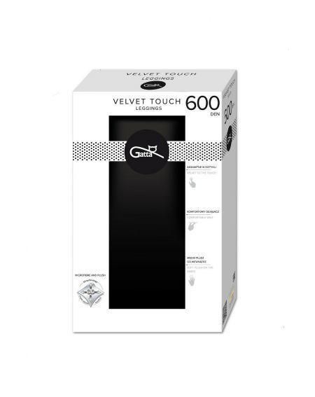 Leggings Gatta Velvet Touch 600 den 2-4
