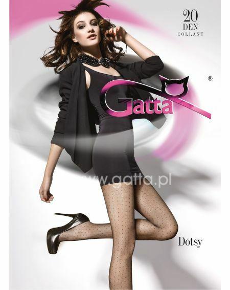 Rajstopy Gatta Dotsy wz.01 20 den 2-4