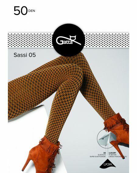 Gatta Sassi tights wz.05 50 denier 2-4