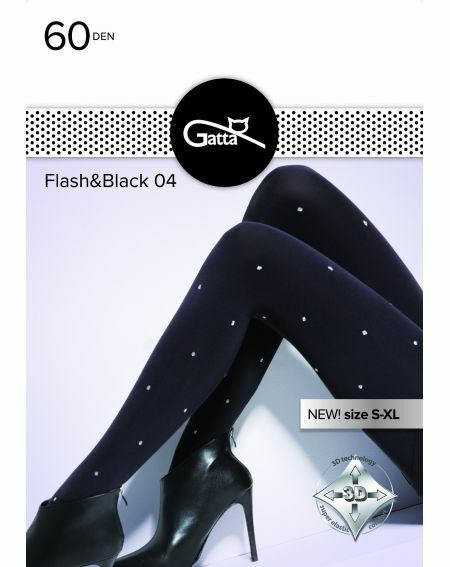 Gatta Flash & Black tights wz.04 60 denier 2-4