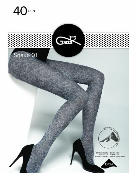 Gatta Snake tights wz.01 40 denier 2-4