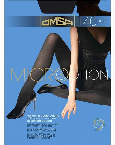 Omsa Micro & Cotton Tights 140 den 2-4