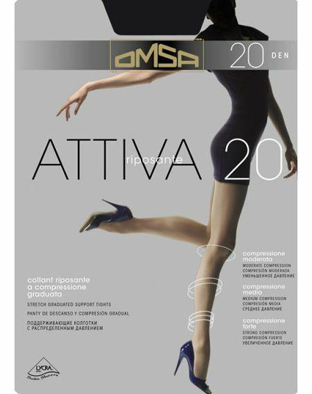 Omsa Attiva Tights 20 denier 6-XXL