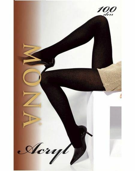 Mona Acryl tights 100 denier 2-4