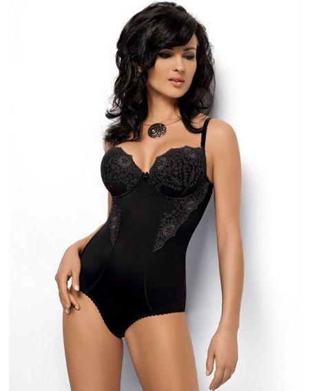Gorsenia Livia body - czarny G184